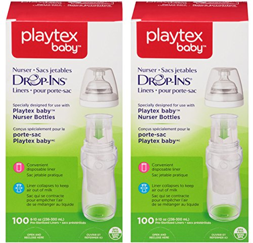 Playtex Baby Nurser Drop Ins Baby Bottle Disposable Liners