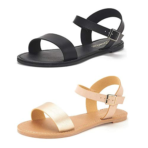 Sugar Women's Pallas Sandal Double Banded 2 Strap ...